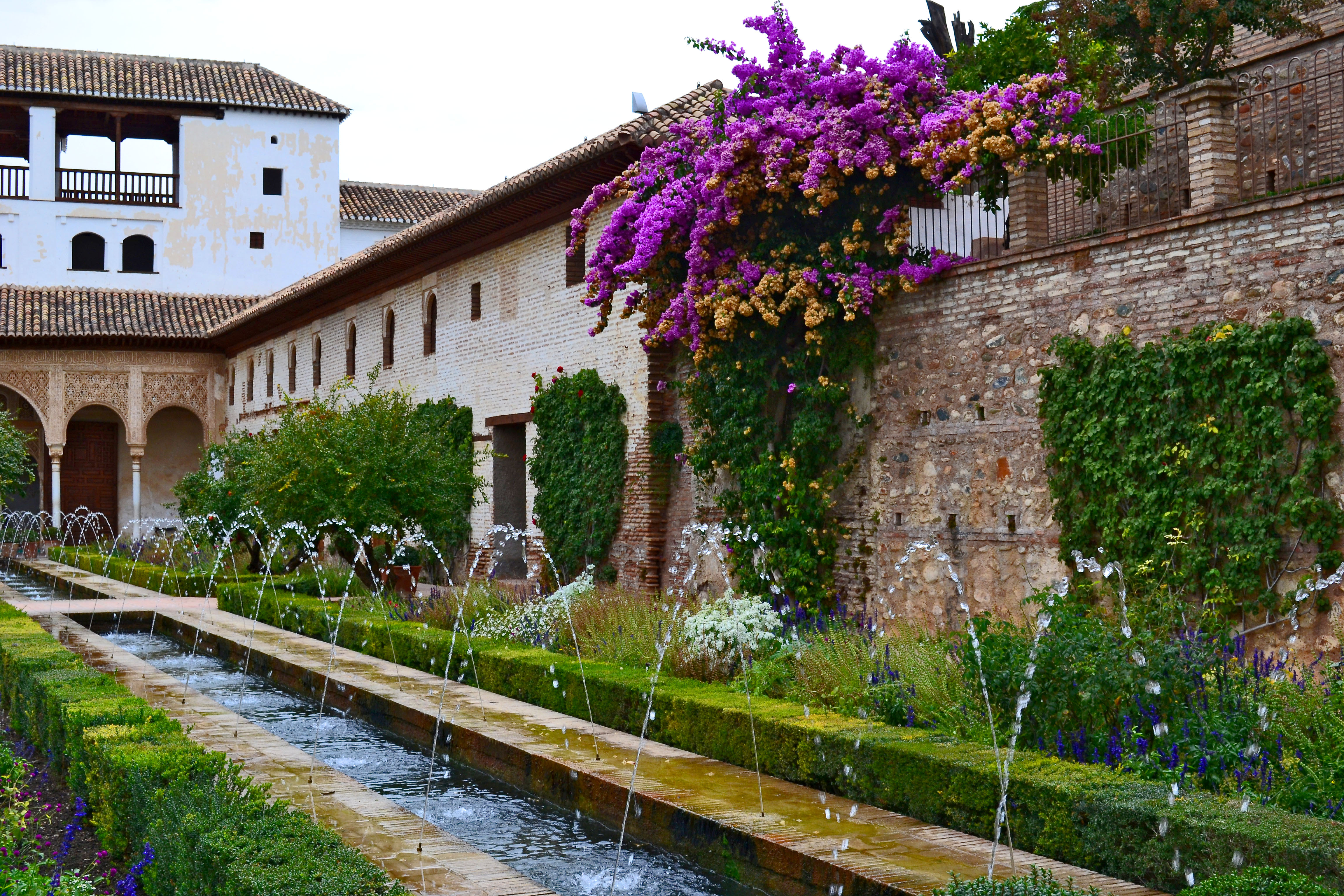 Generalife World Heritage Site: A Thousand and One Year Old Garden - BoomerVoice