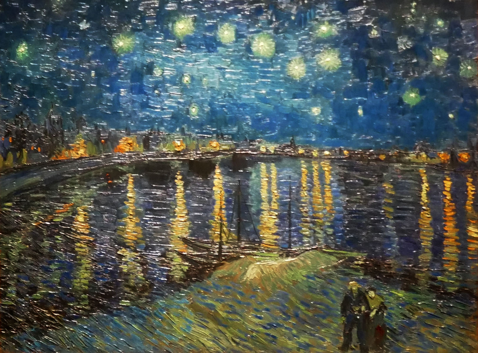 comparison claude monet and van gogh Monet and van gogh essays no two artists can alone be considered responsible for the modern art movement, but both vincent van gogh (1853-1890) and claude monet (1840-1926) led two very distinct groups of artists out of the world we know as classical art.